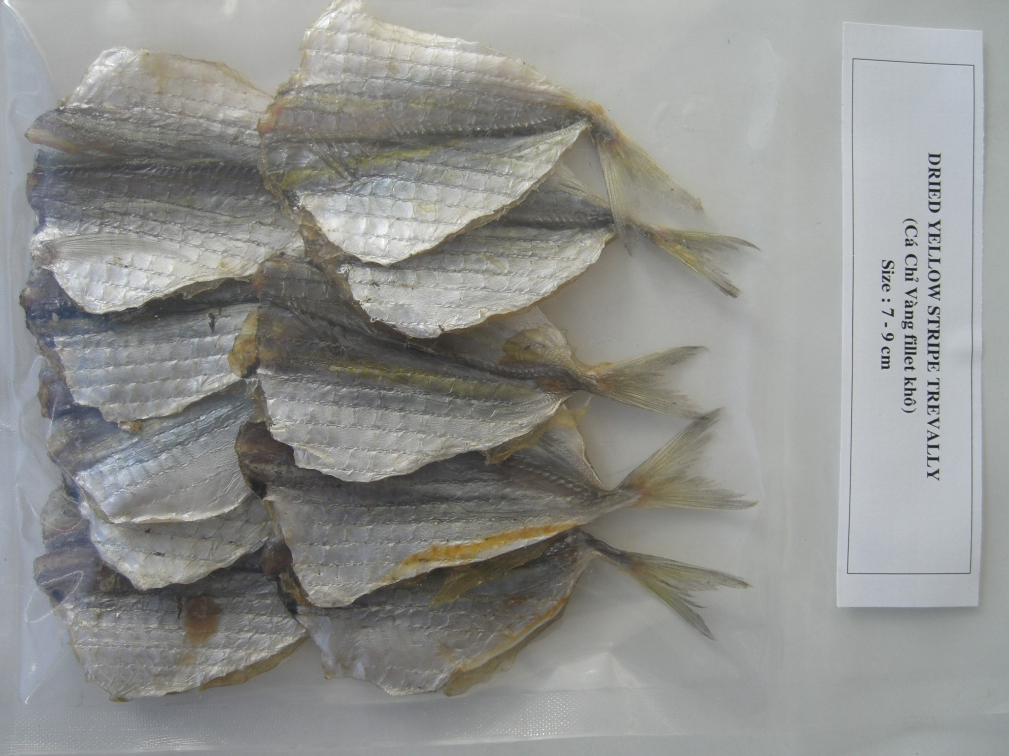 HC13201 - Dried Yellow Stripe trevally fillet