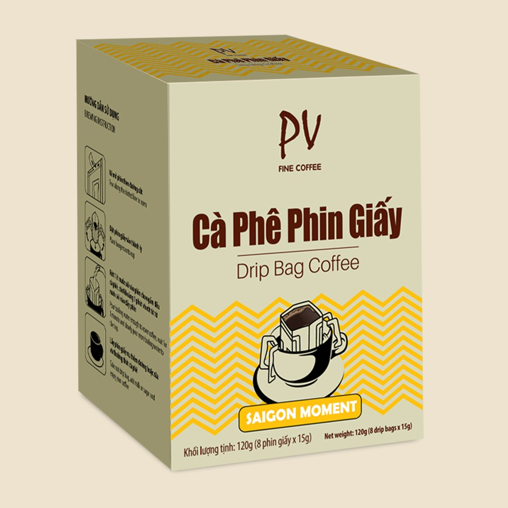 HC1351CPV017 - Coffee Drip Bag SAIGON MOMENT