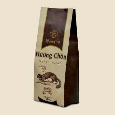 HC1353CPV017-500 - Vietnamese Traditional Coffee, Weasel Blend